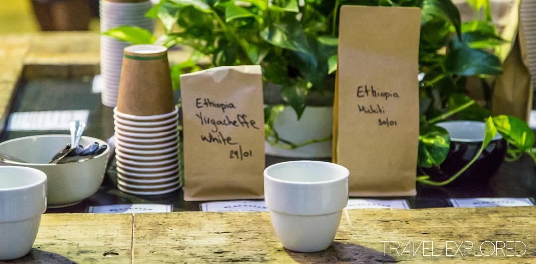 Blackstar Coffee Roasters Cupping - Ethiopian Single Origins