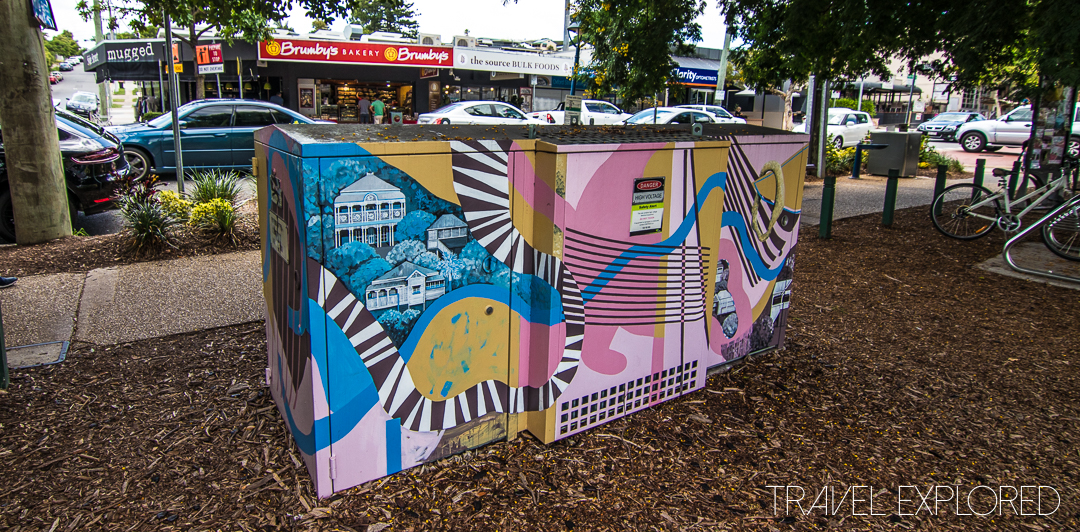 Bulimba - Energex Power Box