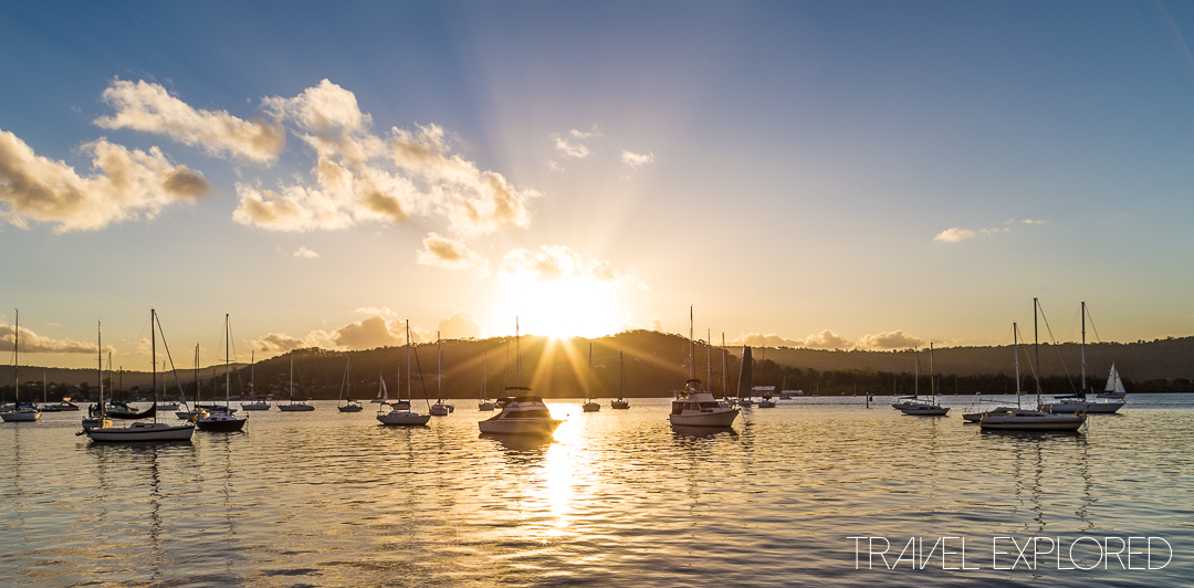 Sunset - Gosford, 8th November 2017