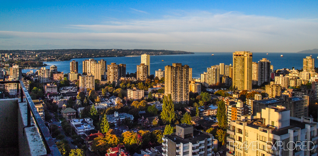 First Photo Overseas - Vancouver, Canada