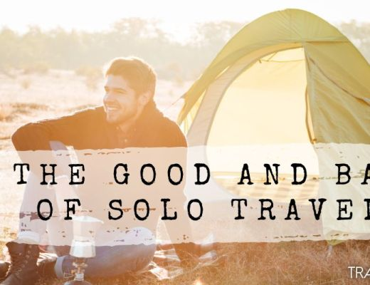 The good and bad of solo travel