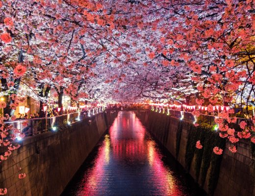 Meguro River, Matsuno, Japan