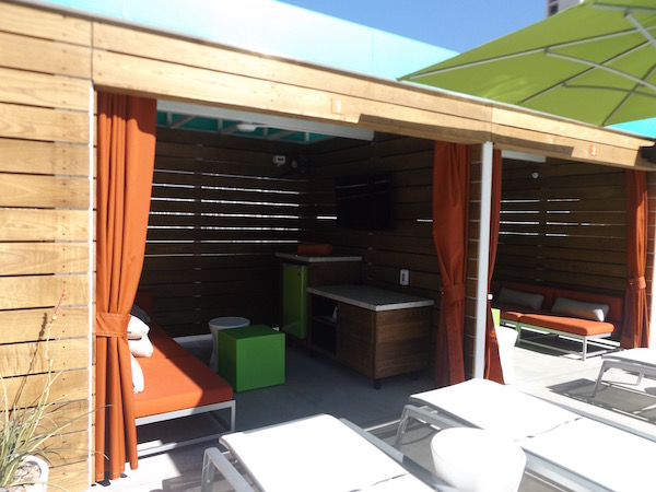 This is a cabana.