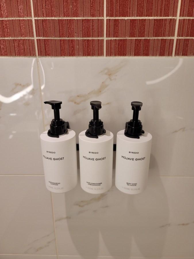 conrad las vegas soap dispensers