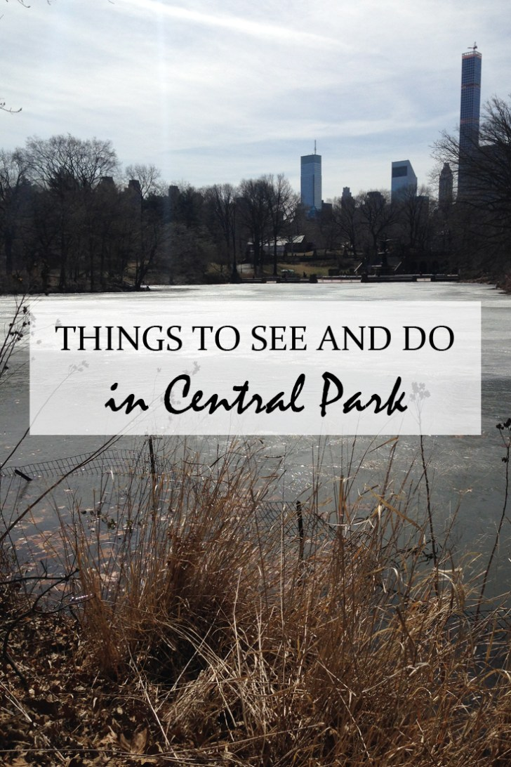 Things to see and do in Central Park other than going for a walk - Travel for a Living