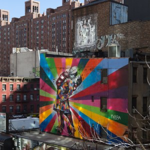 High Line Park Streetart - Travel for a Living