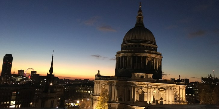 View of St Pauls from One New Change - Best view of London for free - Travel for a Living