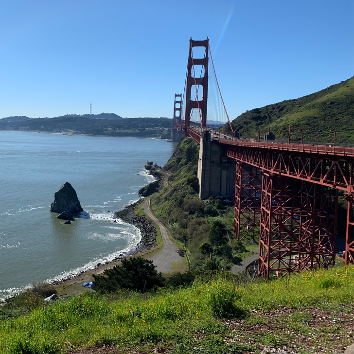 Best views of the Golden Gate Bridge - Travel for a Living