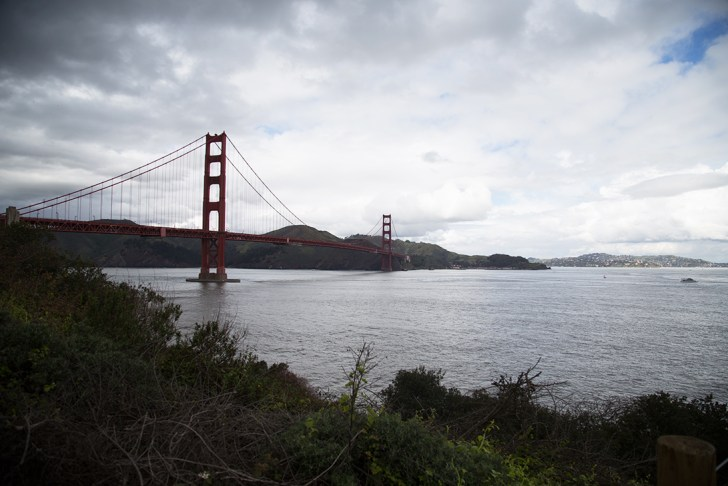 Perfect views of Golden Gate Bridge - Travel for a Living