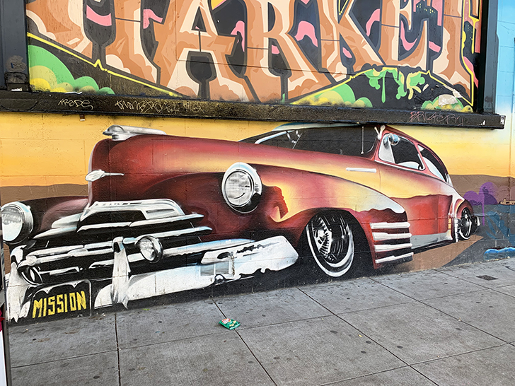 Street Art in Mission District San Francisco - Travel for a Living