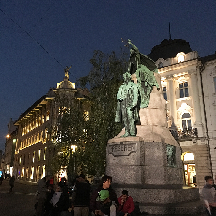 Preseren Square and other things to do and see in Ljubljana - Travel for a Living