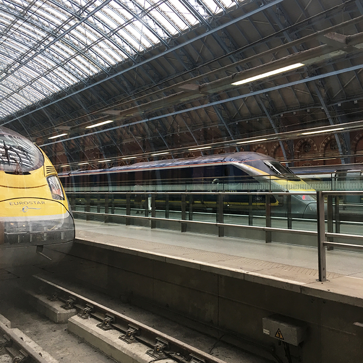 Taking the Eurostar from London to Paris - Travel for a Living