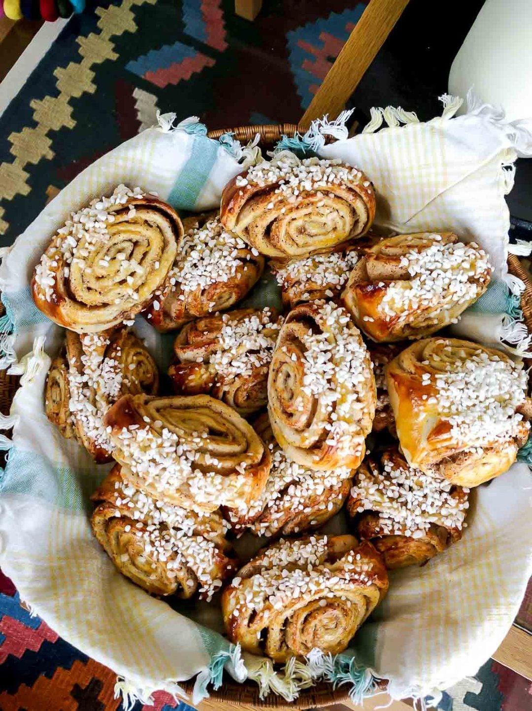 Finnish cinnamon buns