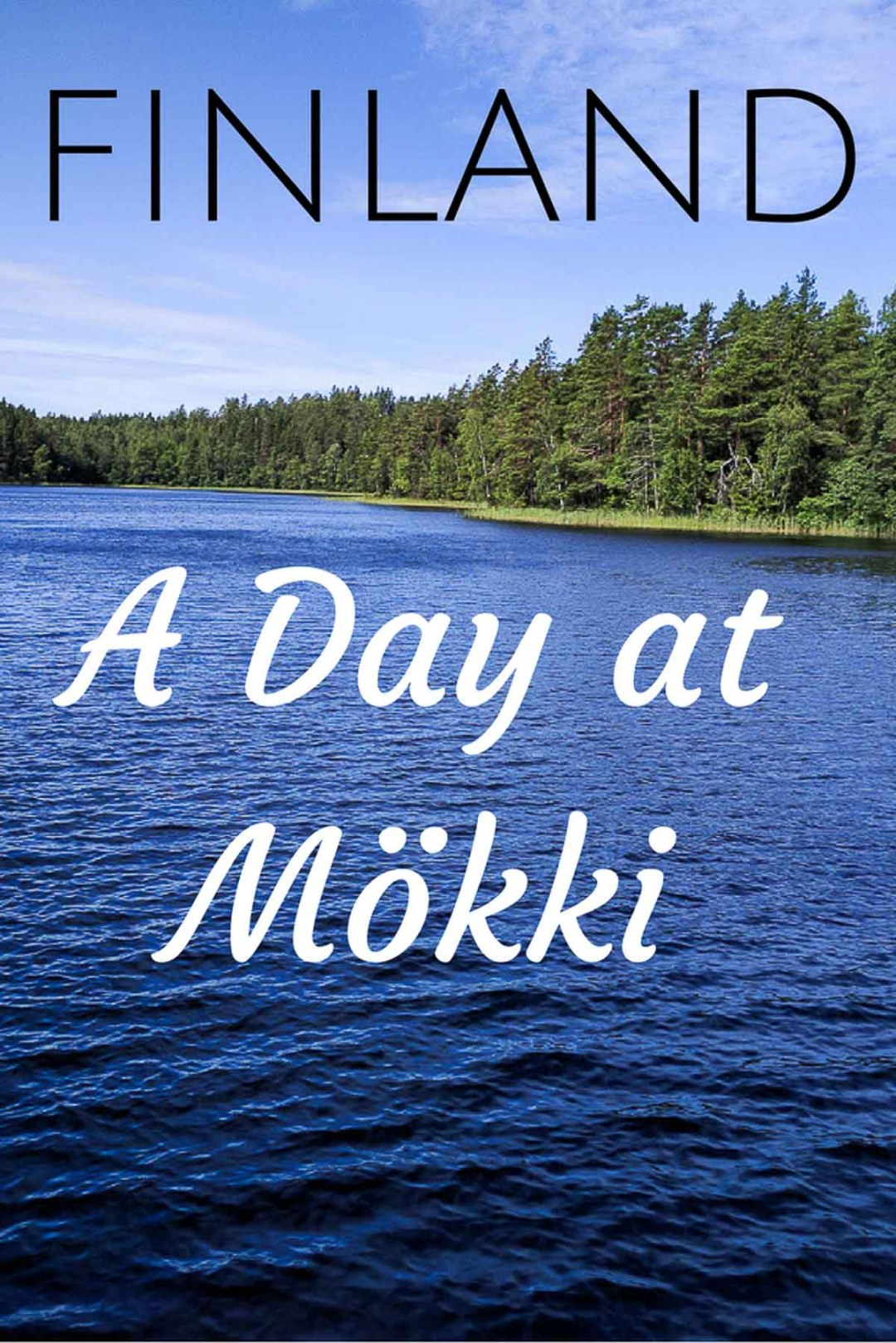 A day at mökki in Finland
