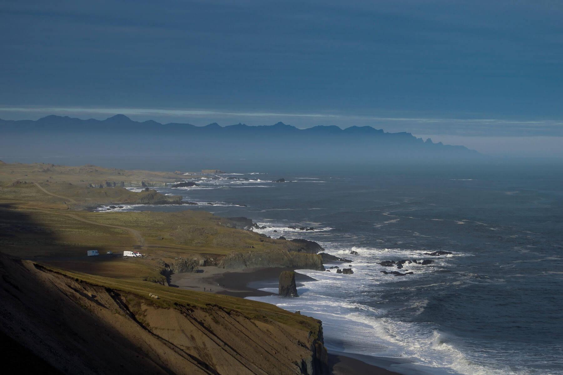 Rugged Coast Line in Eastern Iceland