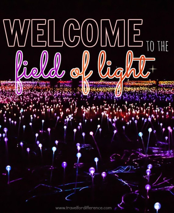 Welcome to the Field of Light