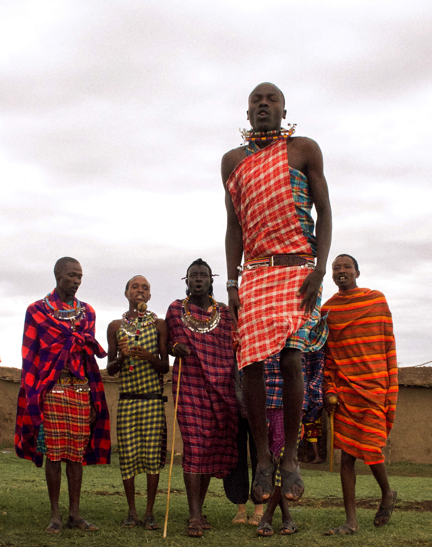 LIFE IN A KENYAN MAASAI VILLAGE