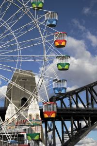 luna park and harbour bridge sydney