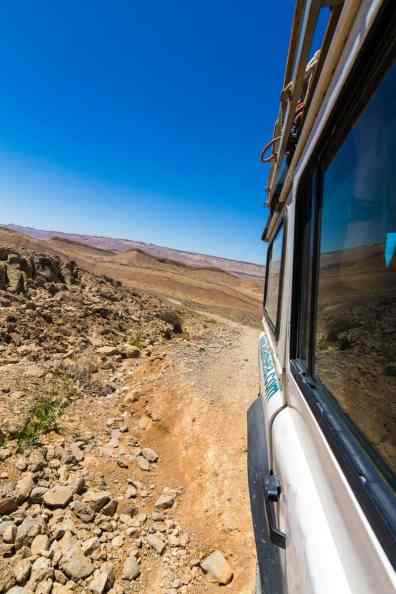 Cruising in the Negev Desert with Adam Sela