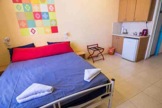 Private room at Abraham Hostel, Jerusalem