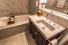 Bathroom in the David Citadel, Jerusalem
