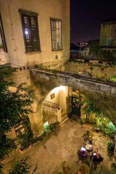 Inside Fauzi Azar Inn, Nazareth