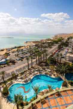 View of the Dead Sea from the Royal Rimonim Hotel