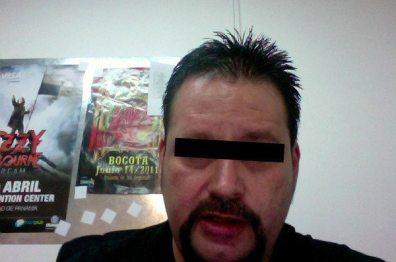 Suspect A caught on webcam!