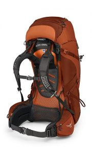 Osprey Aether AG Orange Side