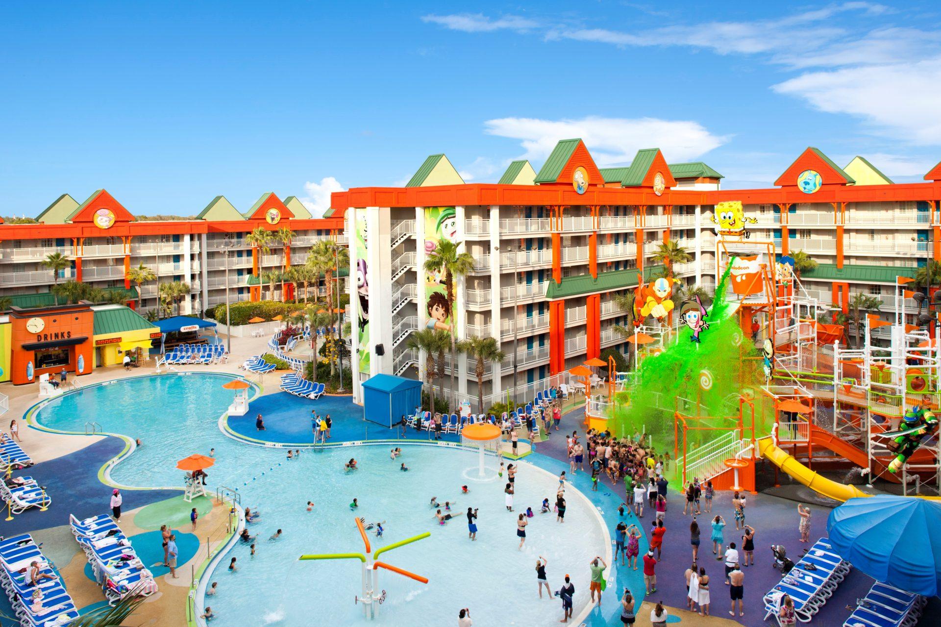Suites Nickelodeon Resort Florida Orlando