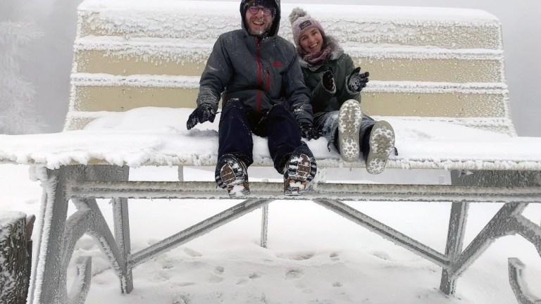 Oncino: alla ricerca della Panchina Gigante #49 sotto la neve