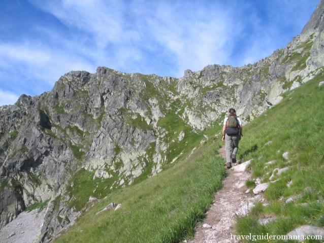 trail in Retezat mountains