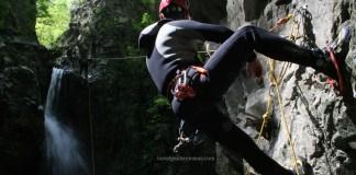 Canyoning in zona Herculane - valea Cernei