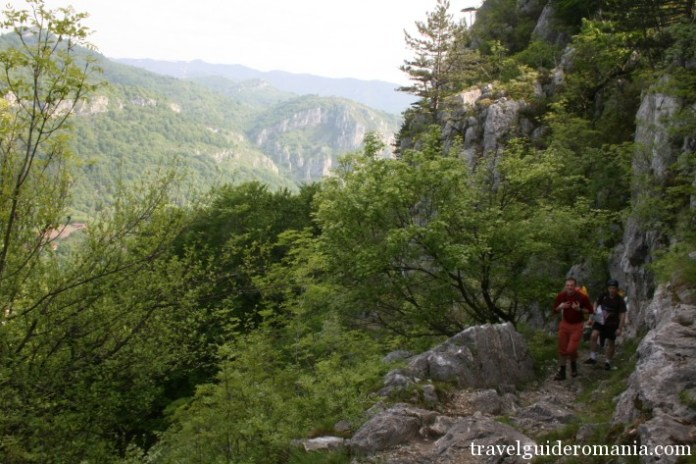 trail in Domoglet National Park - Romania