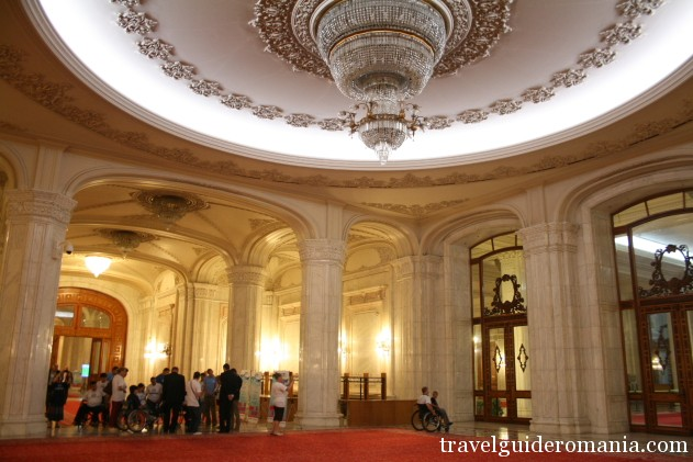 13 September entrance hall at Palace of Parliament