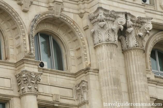 facade detail - House of Parliament