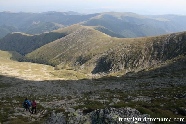 view in Parang mountains - near Transalpina altitude road
