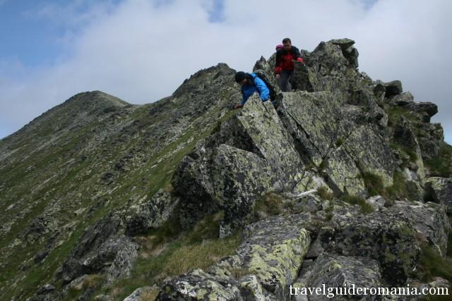 Portile Inchise (Close gates) ridge
