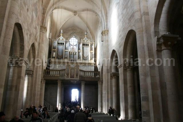 Interior of Catholic Cathedral in Alba Iulia