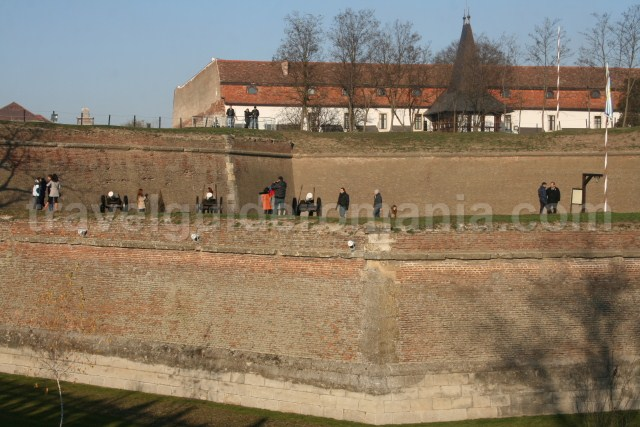 Tourist route of the Fortress' walls - The route of the three fortifications
