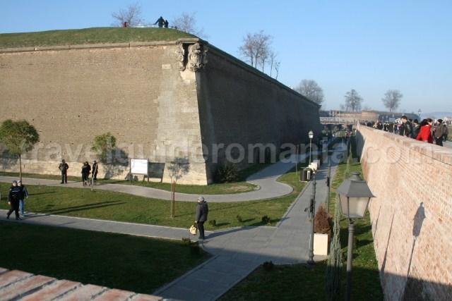 visiting Alba-Iulia Carolina Fortress