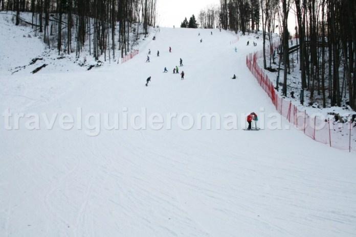 Ski slope at Suior - Maramures