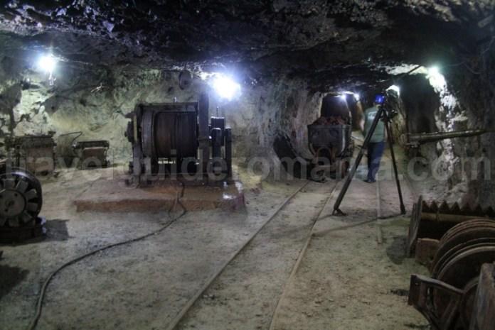 Mining museum in Farcu Cave