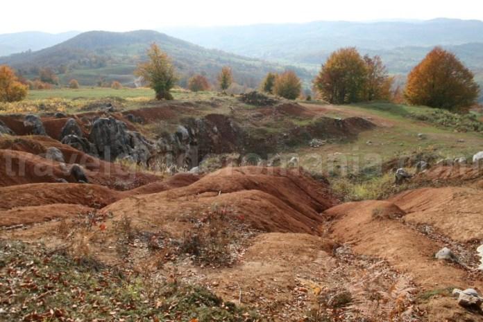 Rosia karstic area - Padurea Craiului mountains