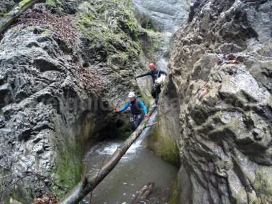 Canionul Oselu - marmita