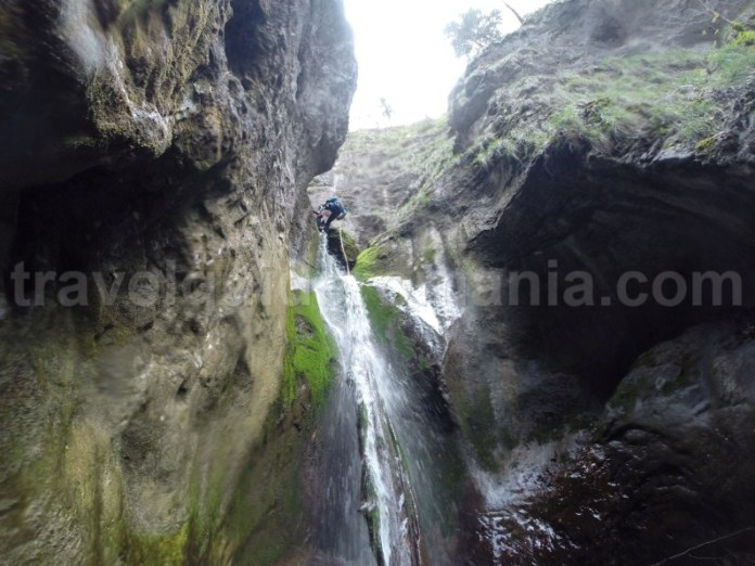 Canyoning in Parcul Natural Apuseni