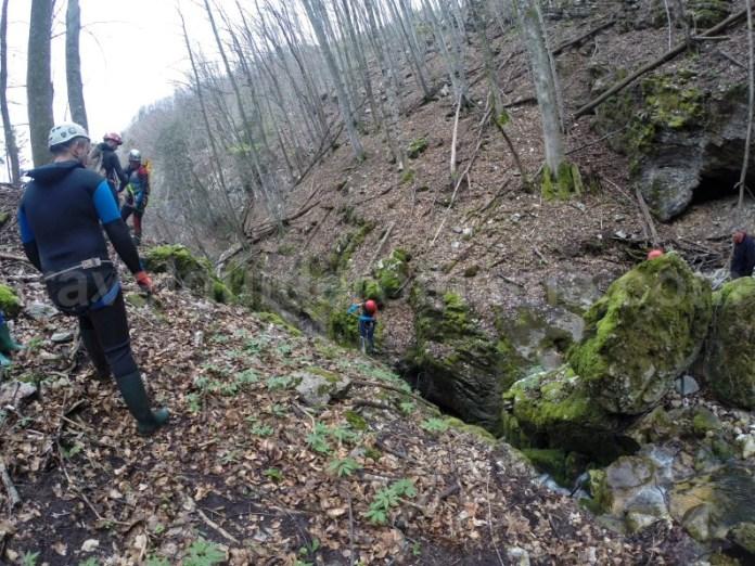 Prima cascada a Canionului Oselu