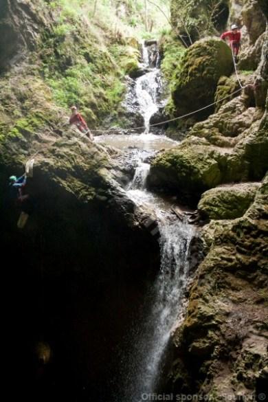Speologie in Pestera Campeneasca