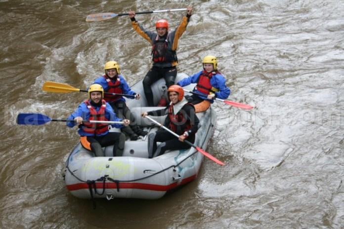 Rafting la Suncuius - Muntii Padurea Craiului