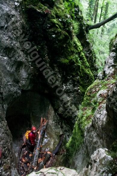 Canionul Cheia Rea in sezon estival - Muntii Bihor